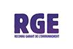 Entreprise RGE - Reconnu Garant de l'Environnement